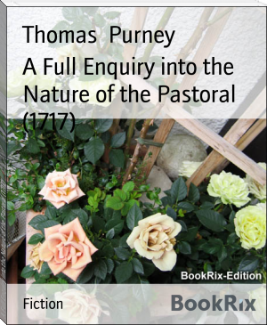 A Full Enquiry into the Nature of the Pastoral (1717)