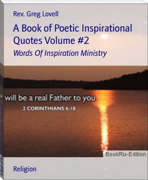 A Book of Poetic Inspirational Quotes Volume #2