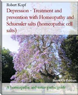 Depression - Treatment and prevention with Homeopathy and Schuessler salts (homeopathic cell salts)