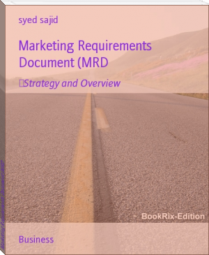 Marketing Requirements Document (MRD
