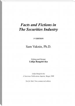 The Facts and Fictions of the Securities Industry