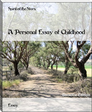 A Personal Essay of Childhood