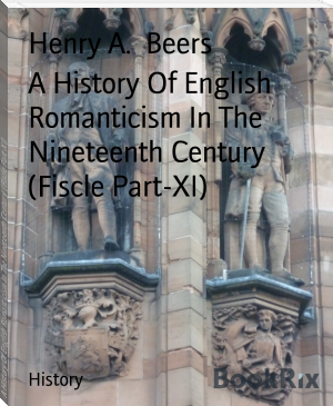 A History Of English Romanticism In The Nineteenth Century  (Fiscle Part-XI)