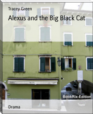 Alexus and the Big Black Cat
