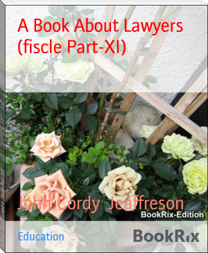 A Book About Lawyers (fiscle Part-XI)