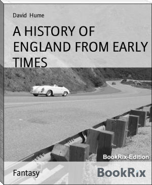 A HISTORY OF ENGLAND FROM EARLY TIMES