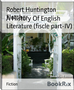 A History Of English Literature (fiscle part-IV)