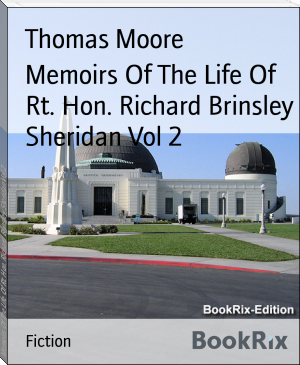 Memoirs Of The Life Of Rt. Hon. Richard Brinsley Sheridan Vol 2