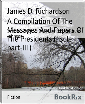 A Compilation Of The Messages And Papers Of The Presidents (fiscle part-III)