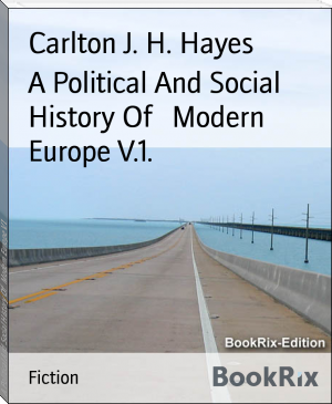 A Political And Social History Of   Modern Europe V.1.