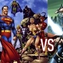 Comics DC and Marvel