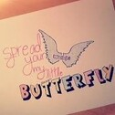 Spread your Wings my little Butterfly-! Meine Bücher...
